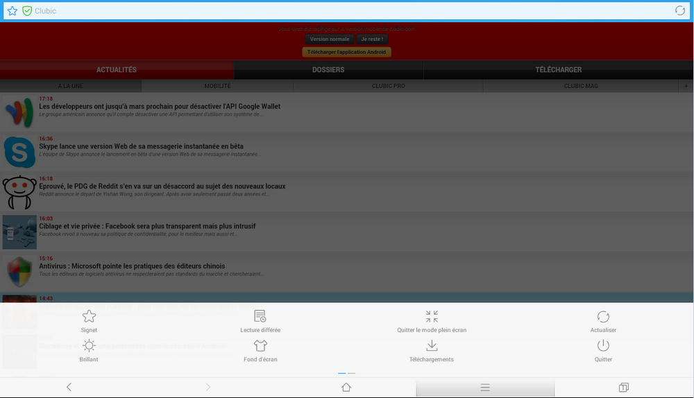 Télécharger Baidu Browser pour Android : téléchargement gratuit !