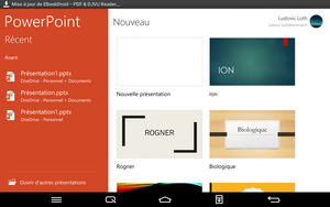 Powerpoint for android tablet gratuit télécharger
