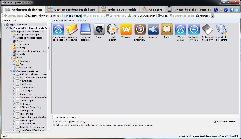 Télécharger iFunbox pour Windows : téléchargement gratuit !