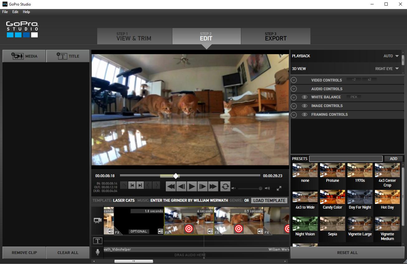 Télécharger GoPro Quik (ex GoPro Studio) pour Windows