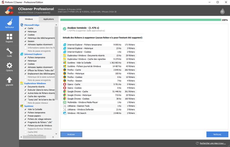 CCleaner pro 5.54.7