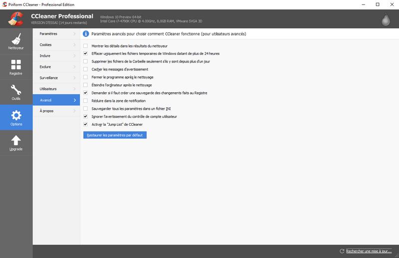 Nettoyer windows: ccleaner, advanced systemcare ou glary utilities?