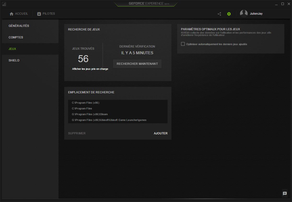 Télécharger NVIDIA GeForce Experience pour Windows : téléchargement