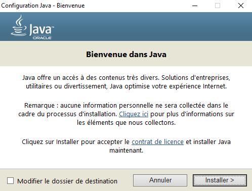 Telecharger Java Runtime Environment Gratuit