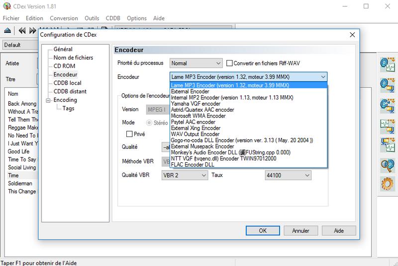 Tutoriel cdex. 1. Configuration: 1ère partie pdf.