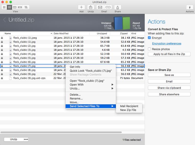 winzip gratuit pour mac