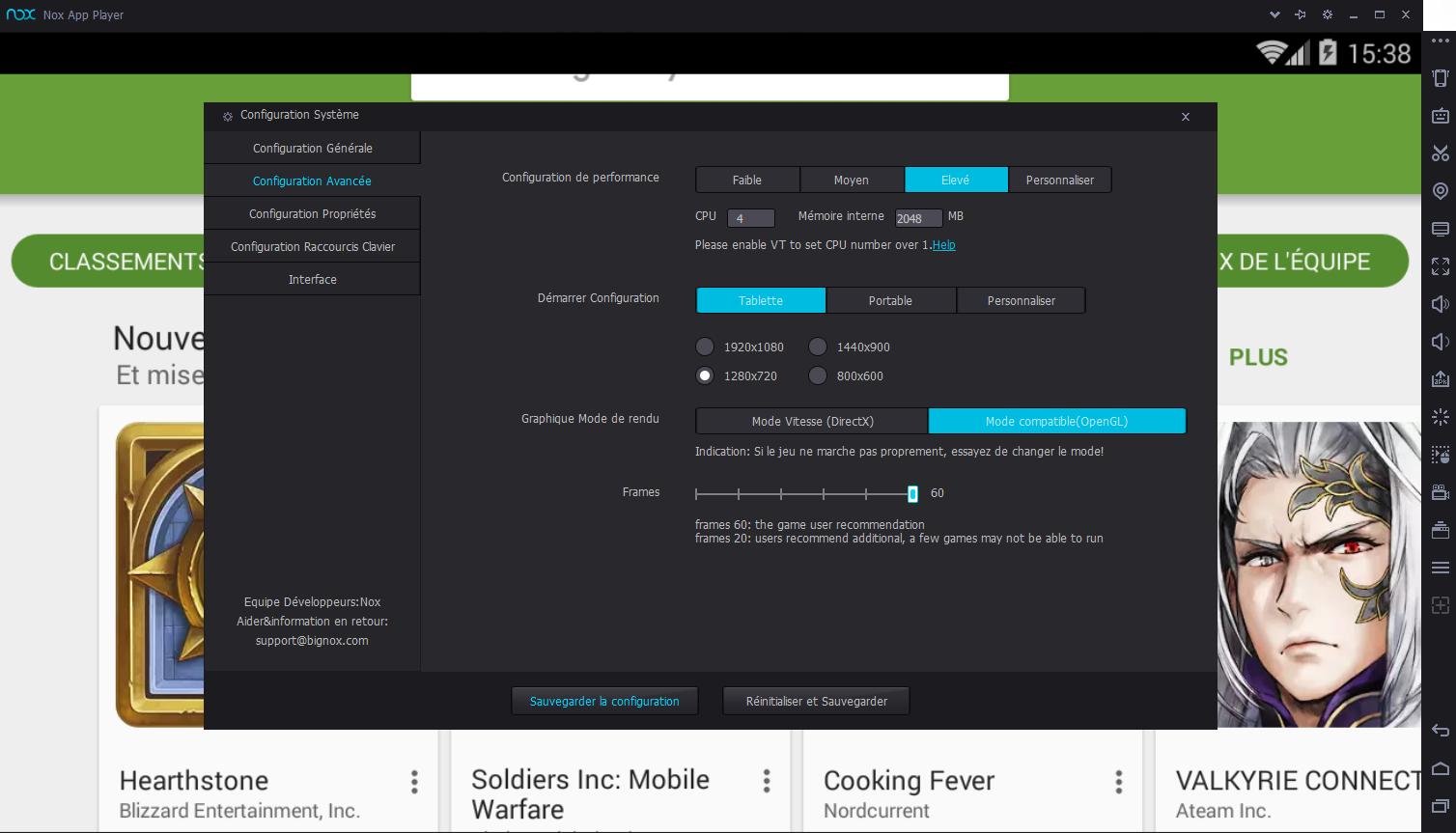 Télécharger Nox App Player pour Windows : téléchargement
