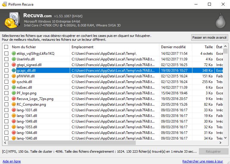 recuva for windows 10 64 bit