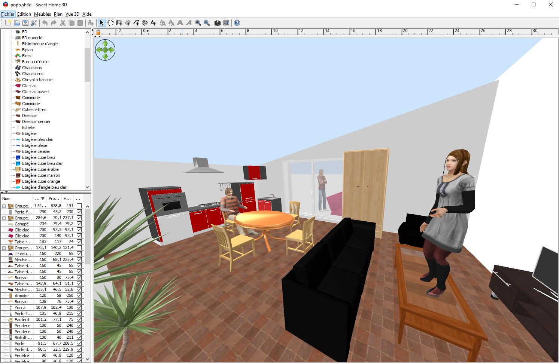 Architecte Interieur 3D Gratuit télécharger sweet home 3d : gratuit