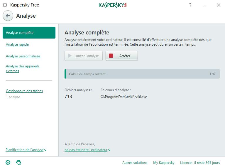 Télécharger Kaspersky Free pour Windows : téléchargement gratuit !
