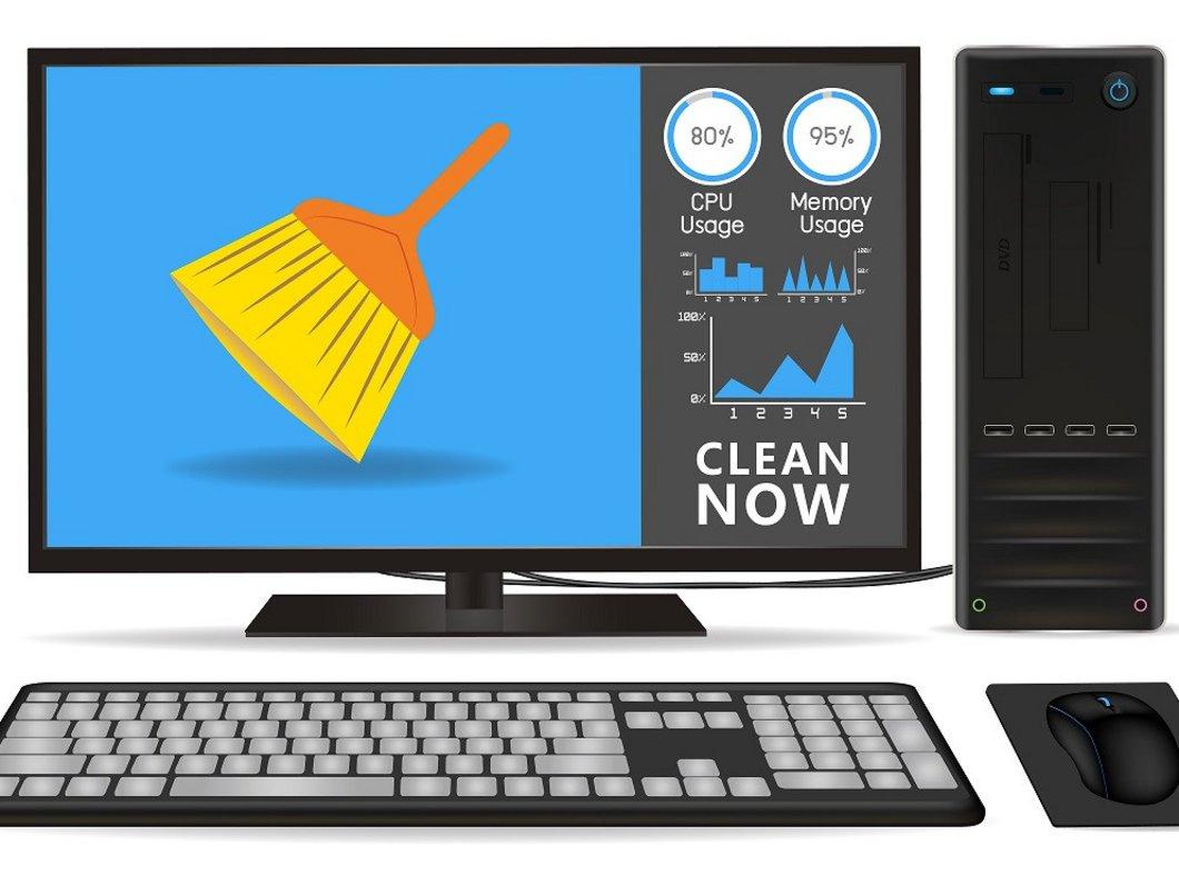 Bureau Informatique Petit Espace ordinateur qui rame : comment nettoyer son pc gratuitement ?
