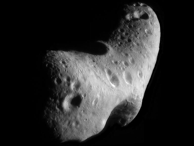 Un astéroïde observé au téléscope, le 31 janvier 2012 © NASA/AFP/Archives