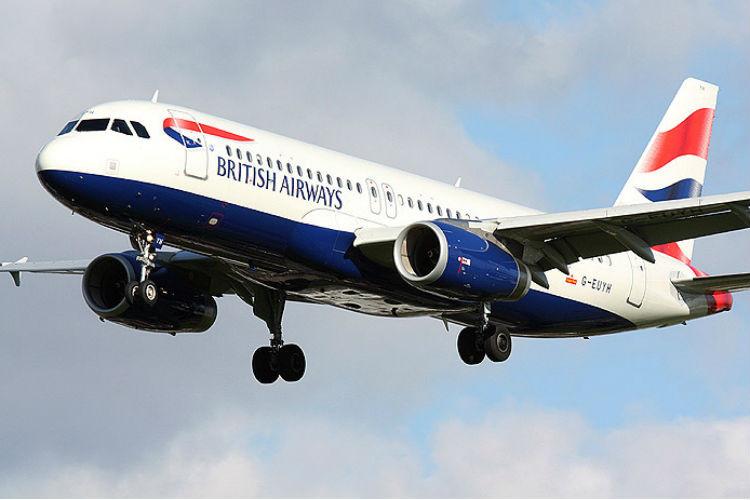 Avion A320 British Airways
