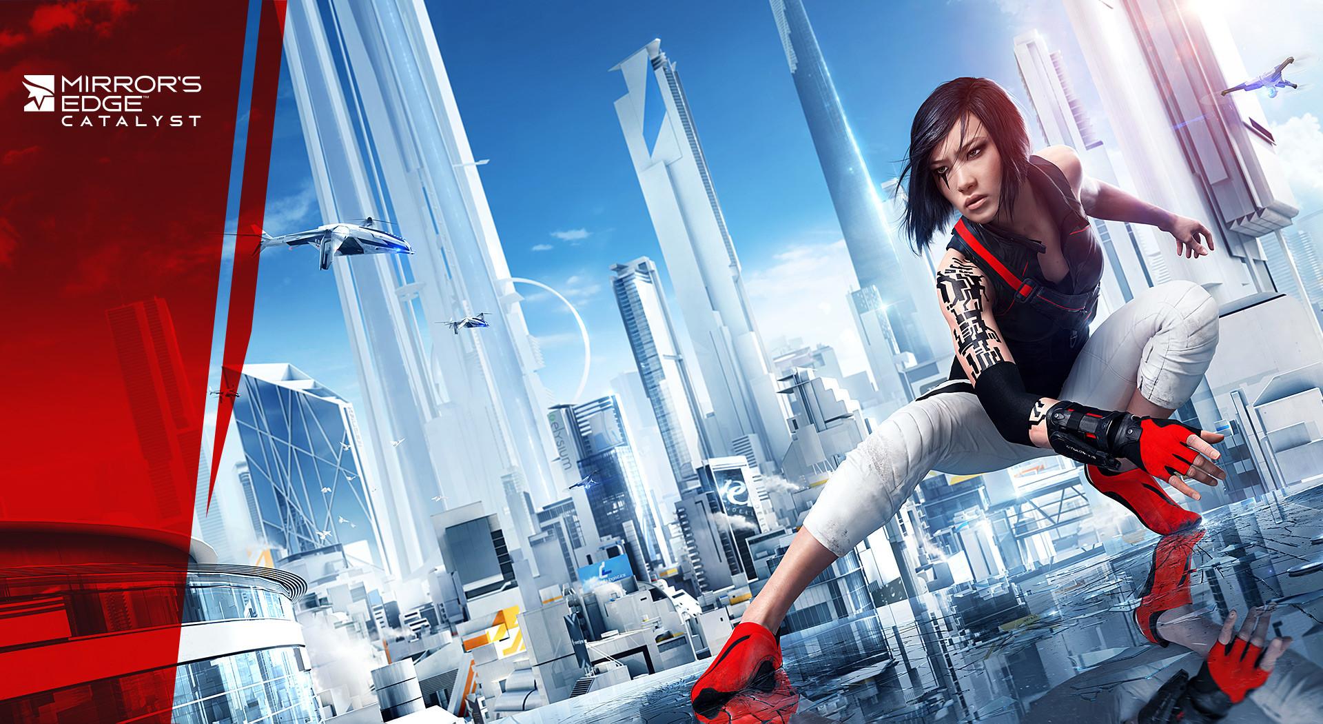 E3 2015 : Mirror's Edge Catalyst se prête au jeu du parkour