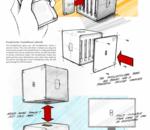 Un concept pour recycler les pièces d'un smartphone modulable en composants de supercalculateur