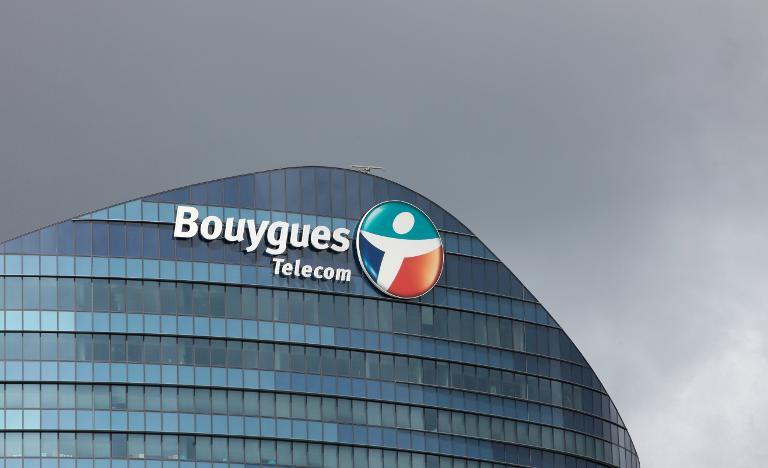 L'immeuble de Bouygues Telecom à Issy-les-Moulineaux, le 14 juillet 2012