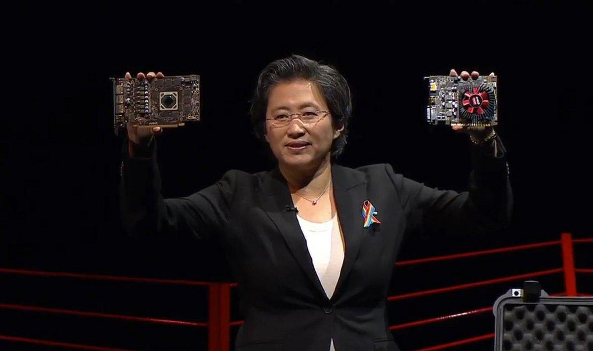 AMD Radeon 470 460 - Lisa Su