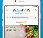 Amazon Prime Now : des produits frais livrés en 1 h à Paris