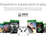 Xbox Play Anywhere : achetez une fois le jeu pour l'installer sur console et PC