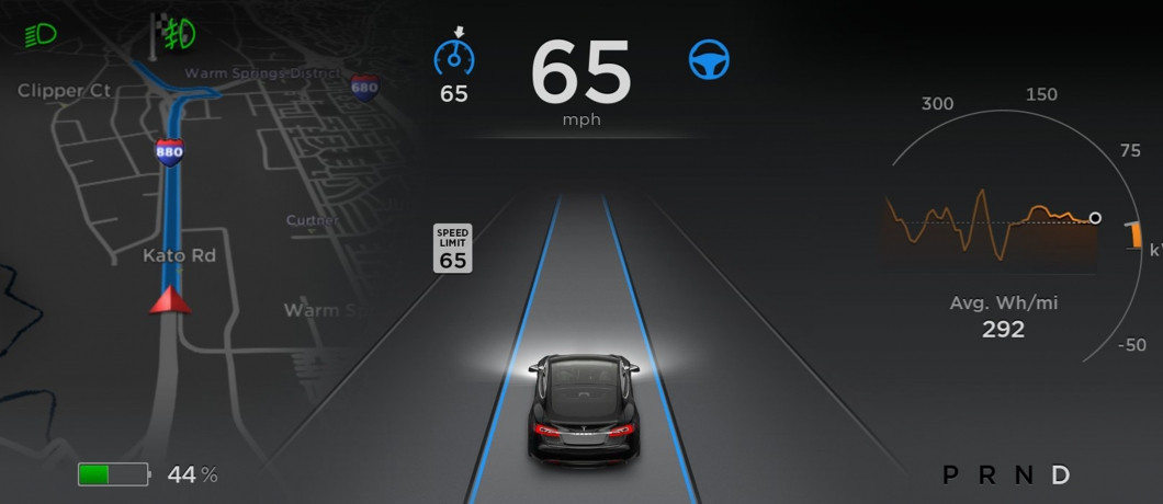 Tesla Model S Autopilot Software 7.0