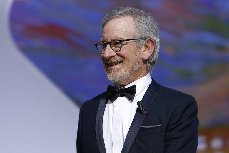 Le réalisateur américain, Steven Spielberg, président du jury du festival, le 26 mai 2013 à Cannes