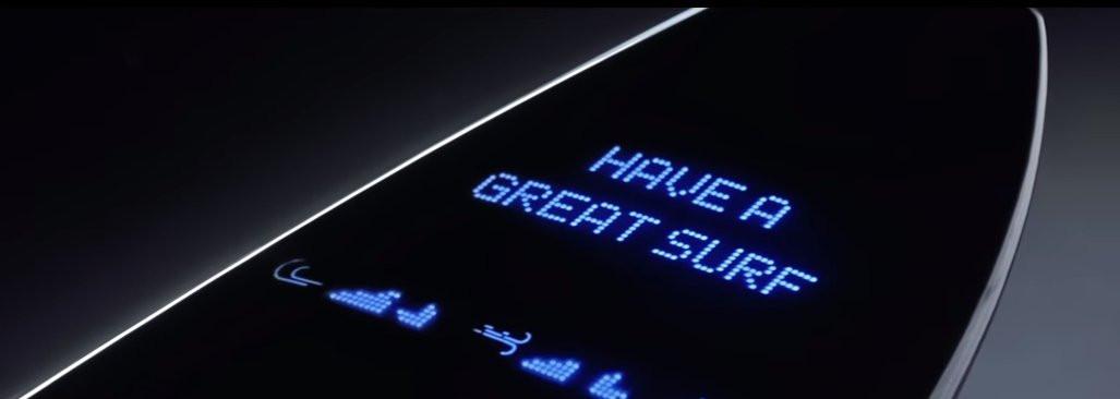Samsung s'essaie à la planche de surf connectée