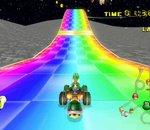 La course arc-en-ciel de Mario Kart s'invite dans les voitures de Tesla