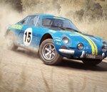 DiRT Rally - Petit tour en vue intérieure au volant d'une Alpine A110 ou d'une Peugeot 205 T16
