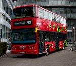 Les premiers bus à impériale totalement électriques débarquent à Londres