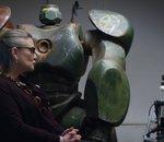Carrie Fisher (Star Wars) psy pour robots dans une pub IBM