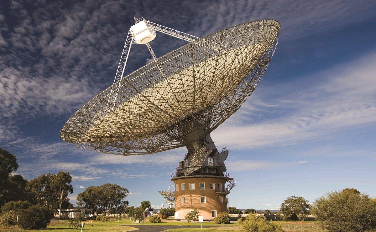 Radiotelescope de Parkes, Australie