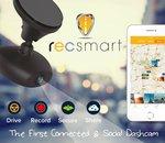 RoadEyes recSMART : une dashcam sociale pouvant diffuser en direct