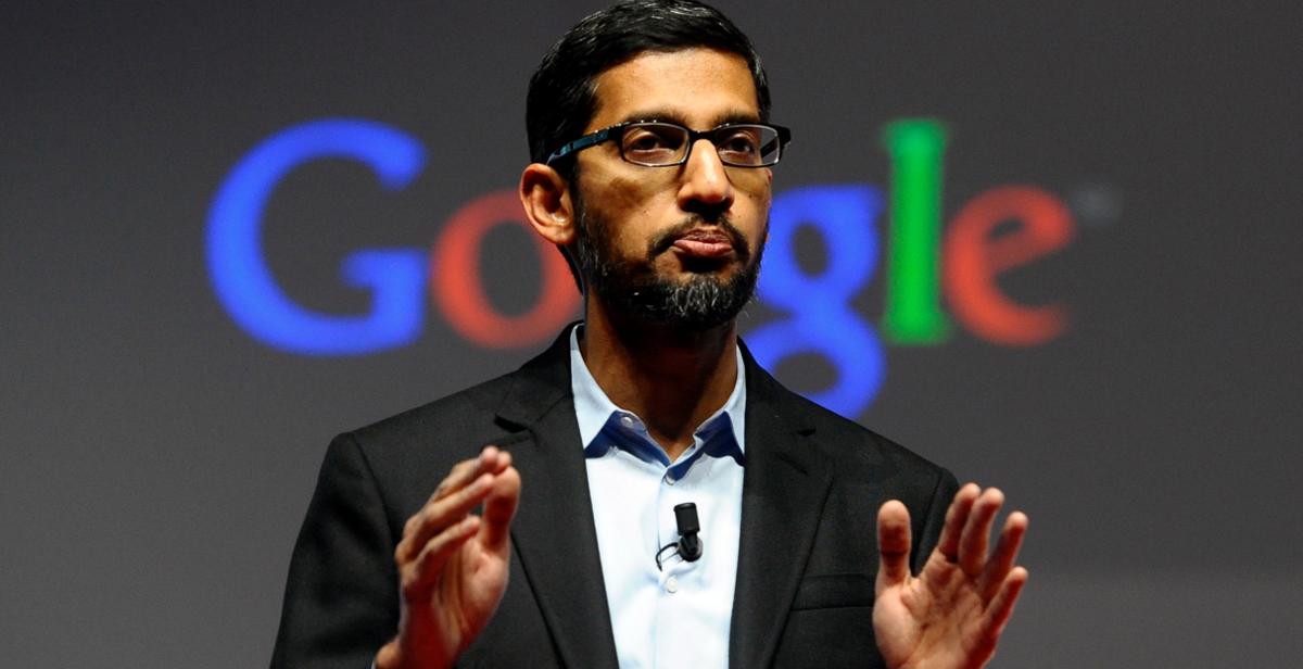Sundar Pichai PDG de Google