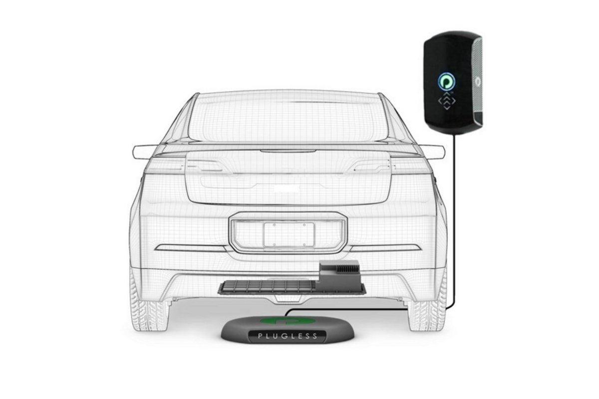 Tesal model s recharge induction 3
