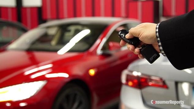 Tesla Model S Summon Consumer Reports