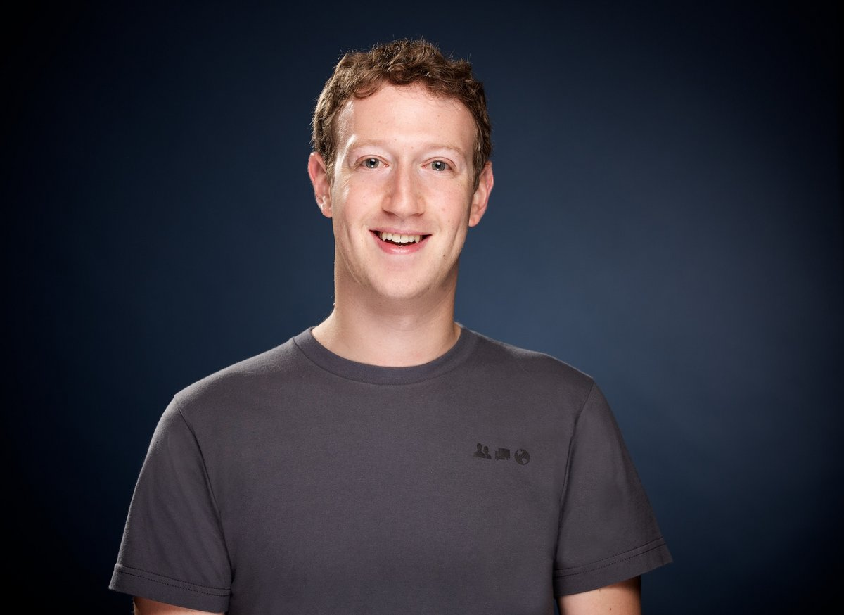 Portrait officiel de Mark Zuckerberg