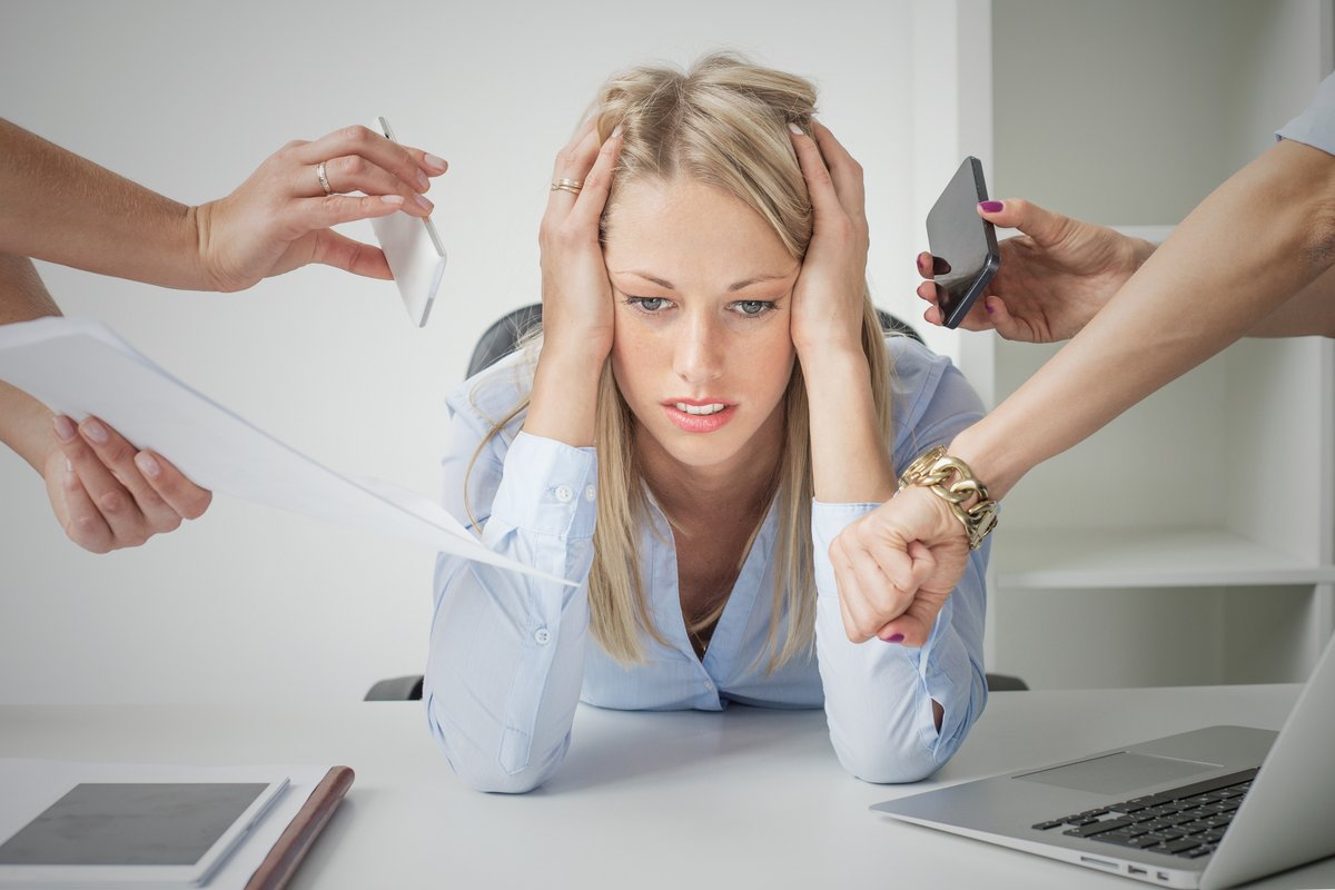 Stress travail e-mail email