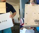 Il achète une PS4 pour Noël et se retrouve avec un morceau de bois