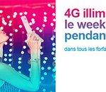 Bouygues Telecom : data illimitée le week-end sur les 6 premiers mois de 2016