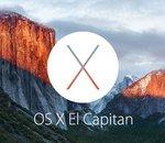 OS X El Capitan sera disponible le 30 septembre