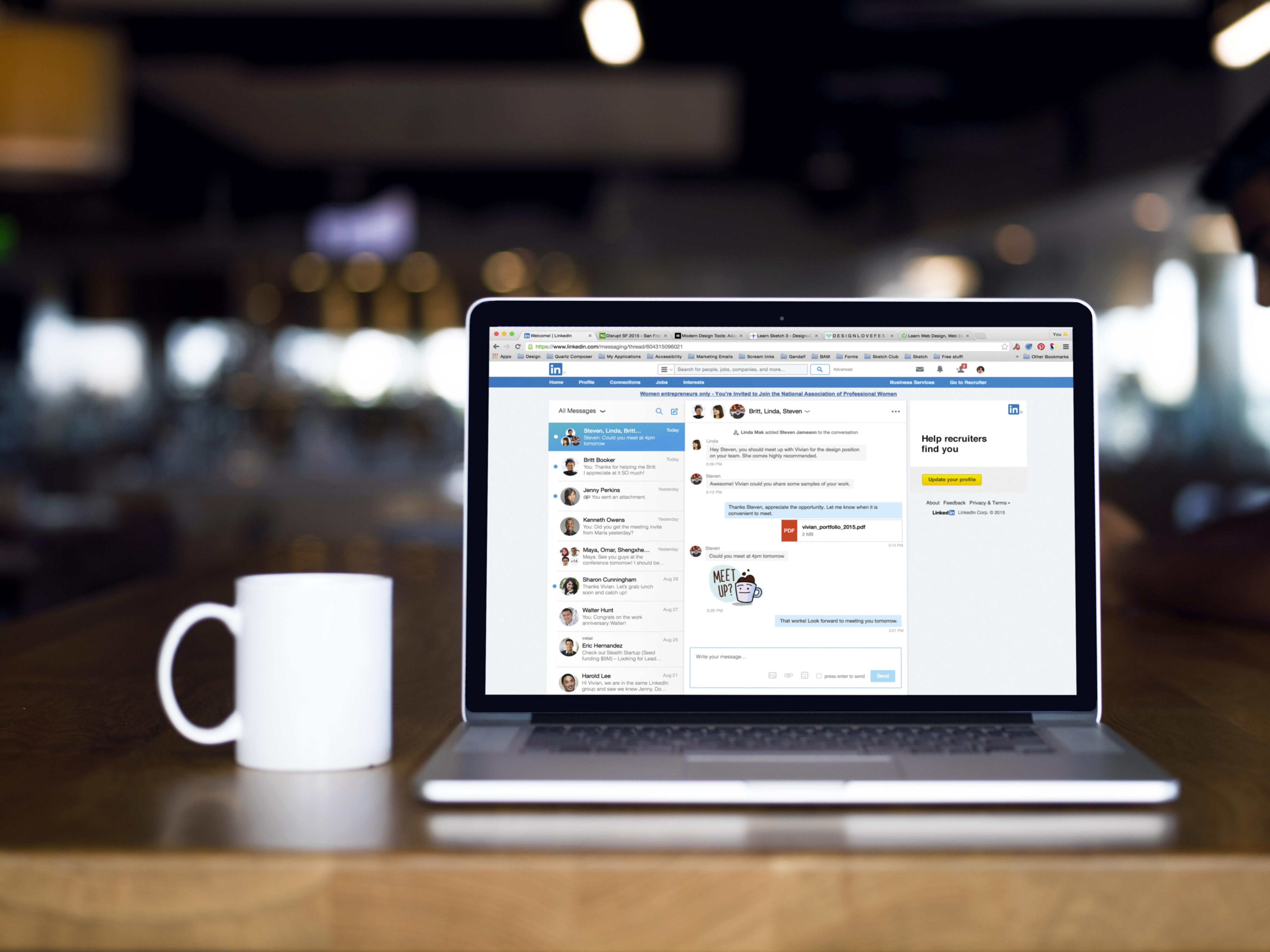 Linkedin La Messagerie Fait Enfin Peau Neuve