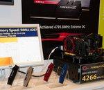 IDF 2015 : G-Skill montre de la DDR4 à 4 266 MHz