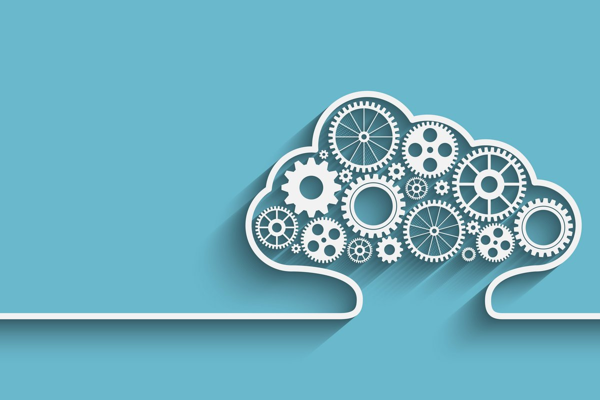 Cloud logo entreprise processus