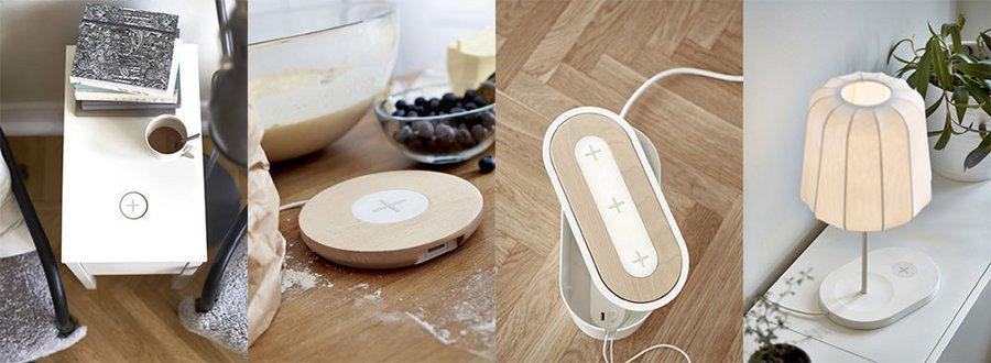 Ikea Integre Des Chargeurs Sans Fil Pour Smartphones Dans Certains Meubles