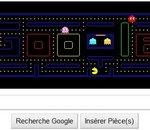 Google fête les 30 ans de Pac-Man avec un logo jouable