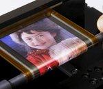 Sony dévoile son dernier écran Oled flexible