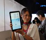 Ceatec : Sharp dévoile sa tablette Android, la Galapagos (vidéo)