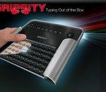Grippity, le clavier où les touches se trouvent... à l'arrière