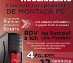 Concours d'overclocking de Surcouf Lille Flandres : notre reportage vidéo !
