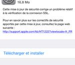 Apple publie iOS 7.0.6 et iOS 6.1.6